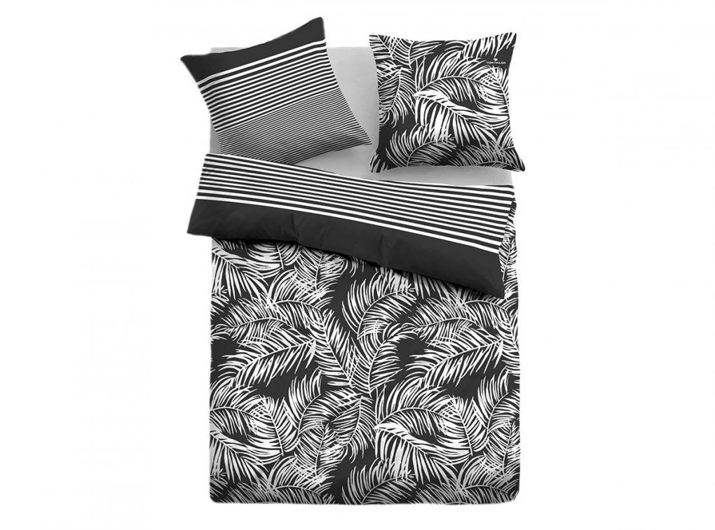 Tom Tailor Satin Bettwäsche Black & White Jungle  Bettenriese von Tom Tailor Bettwäsche Flanell Photo