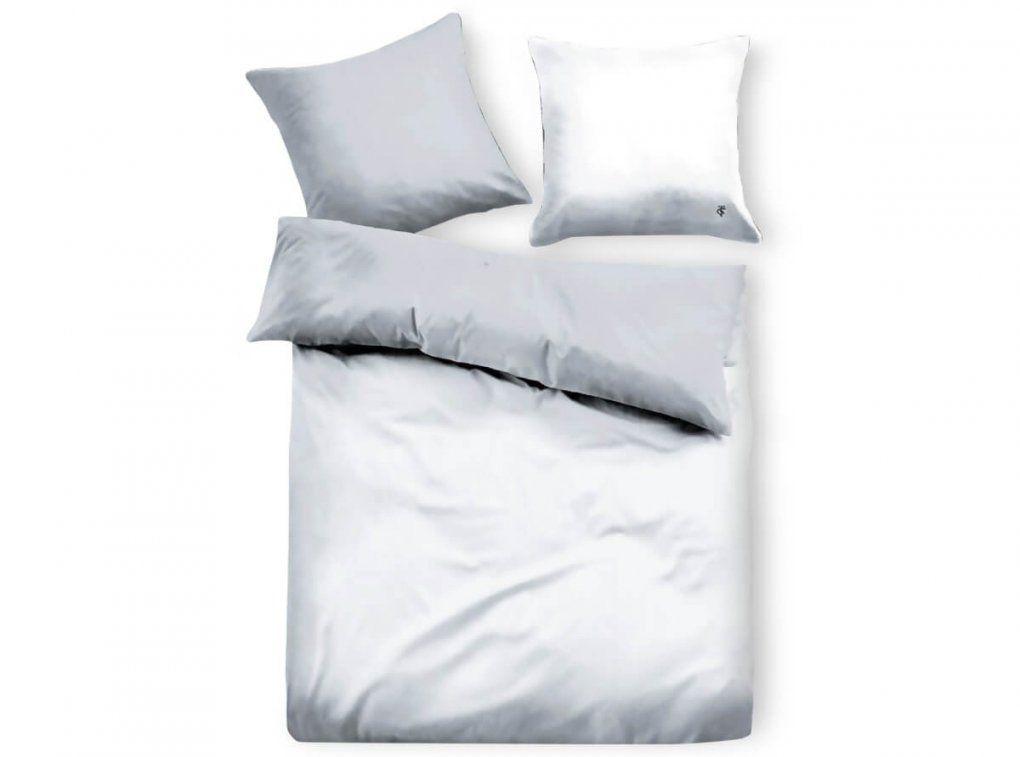 Tom Tailor Satinbettwäsche Uni White  Bettenriese von Glanz Satin Bettwäsche 155X220 Photo