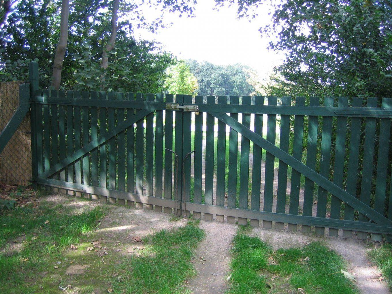 Tore Und Türen Selber Bauen  Youtube von Staketenzaun Tor Selber Bauen Photo