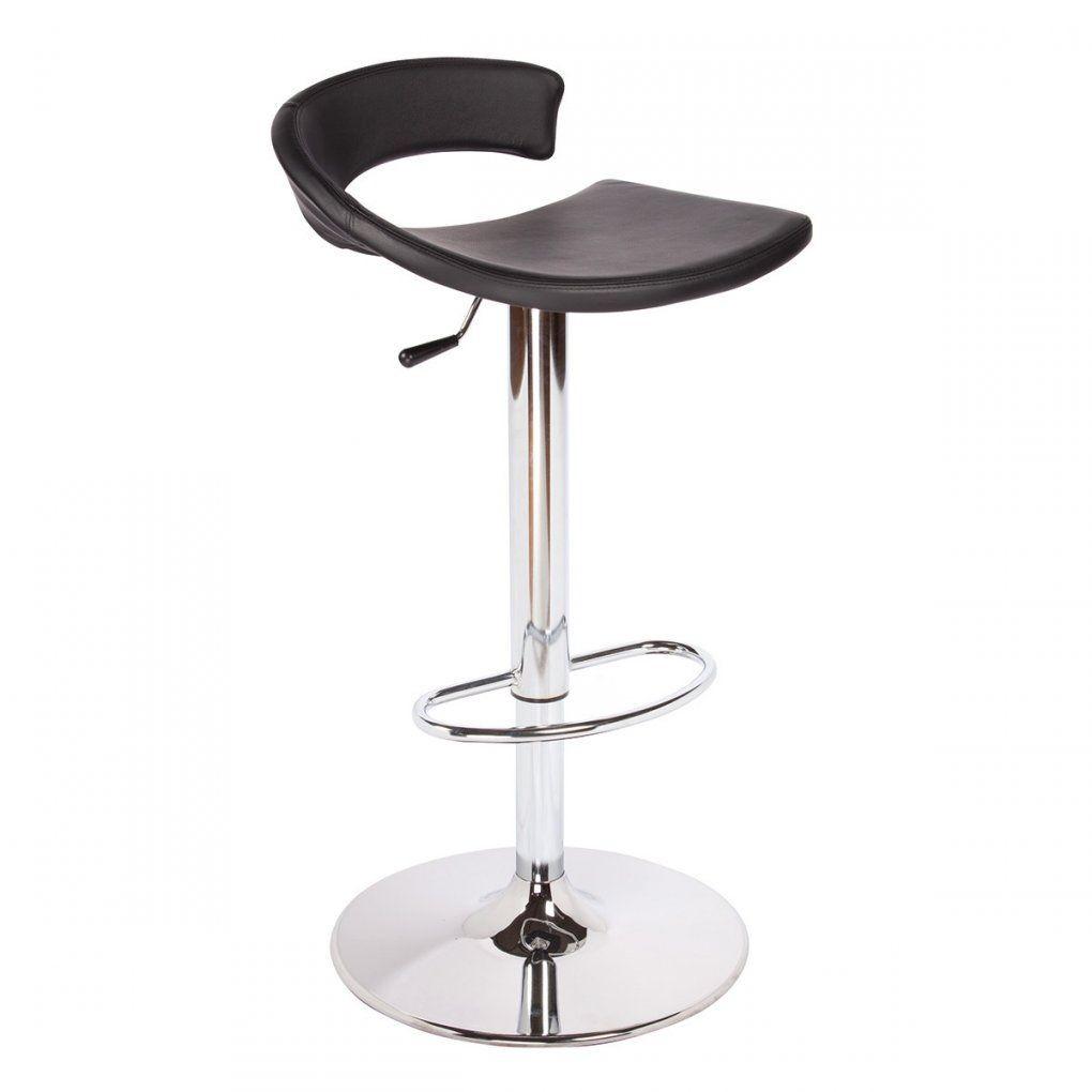 Torino Soft Barhocker Höhenverstellbar Gestell Chrom  Wwwin von Barhocker Sitzhöhe 90 Cm Photo