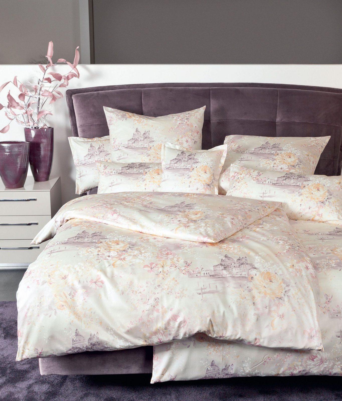 Traumhafte Makosatin Bettwäsche Messina 43012 Günstig Bestellen von Glanz Satin Bettwäsche 155X220 Bild