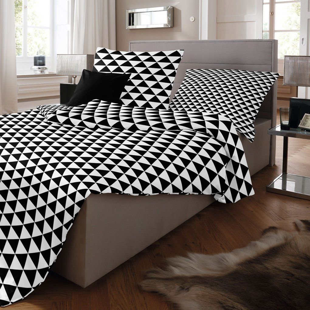 schwarz wei gestreifte bettw sche haus design ideen. Black Bedroom Furniture Sets. Home Design Ideas