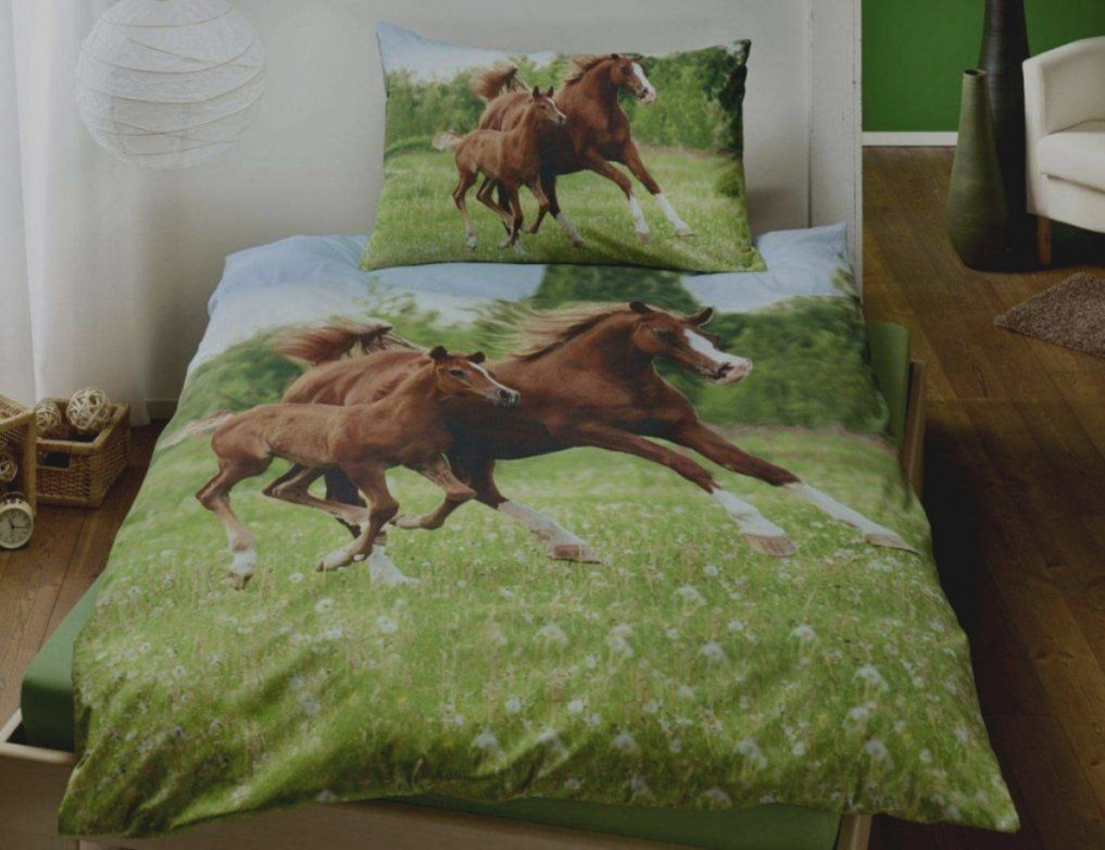 Trend Bettwasche Mit Pferden Good Morning Bettwäsche Pferde Günstig von Pferde Bettwäsche Baumwolle Photo