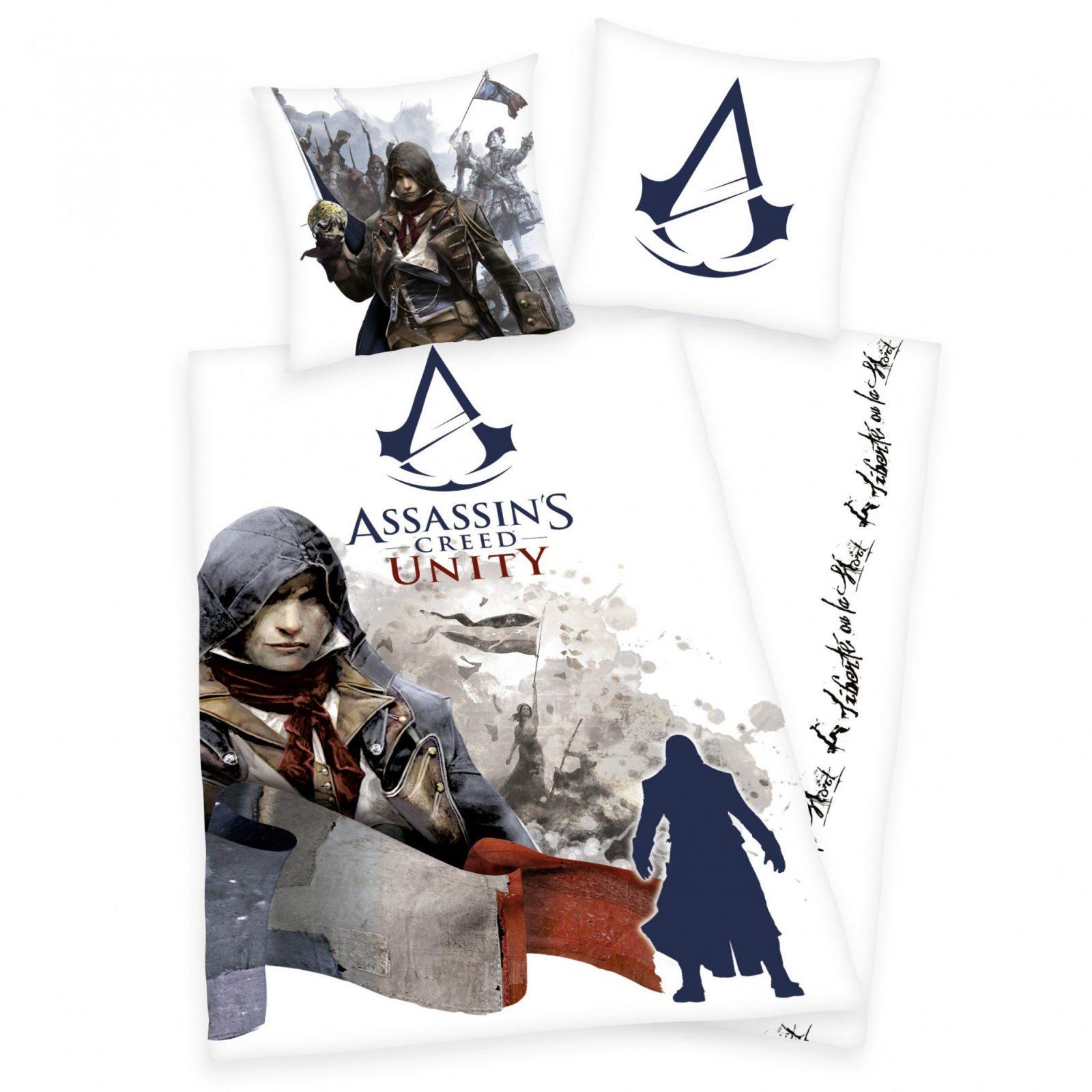 Trend Textilien Zum Kuscheln Und Träumen  2Teilige Assassin's von Assassins Creed Bettwäsche Photo