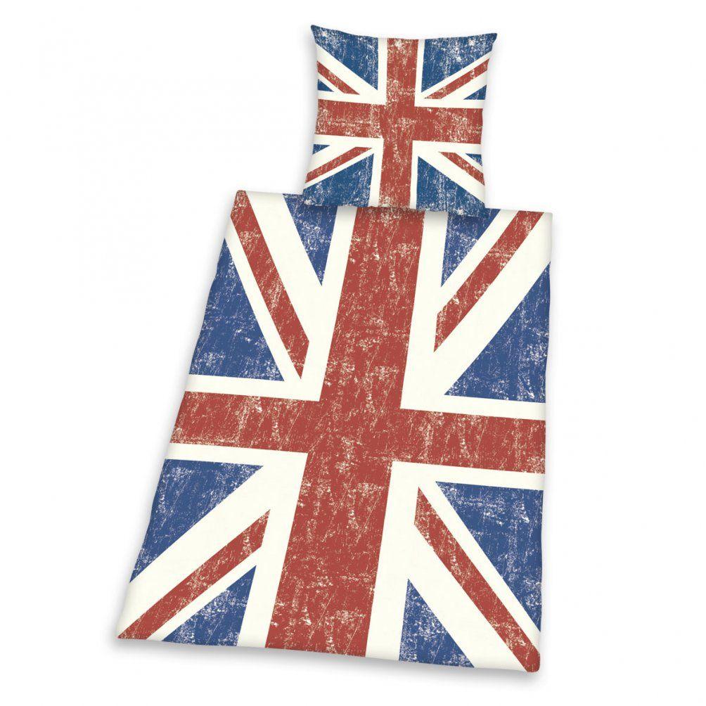 Trend Textilien Zum Kuscheln Und Träumen  Union Jack Bettwäsche von Bettwäsche Union Jack Bild