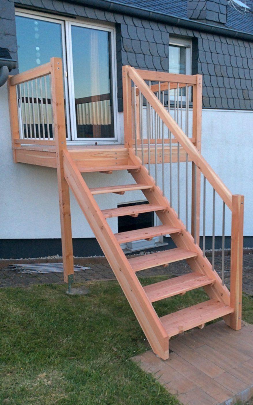 treppe außen selber bauen bild das wirklich stilvolle