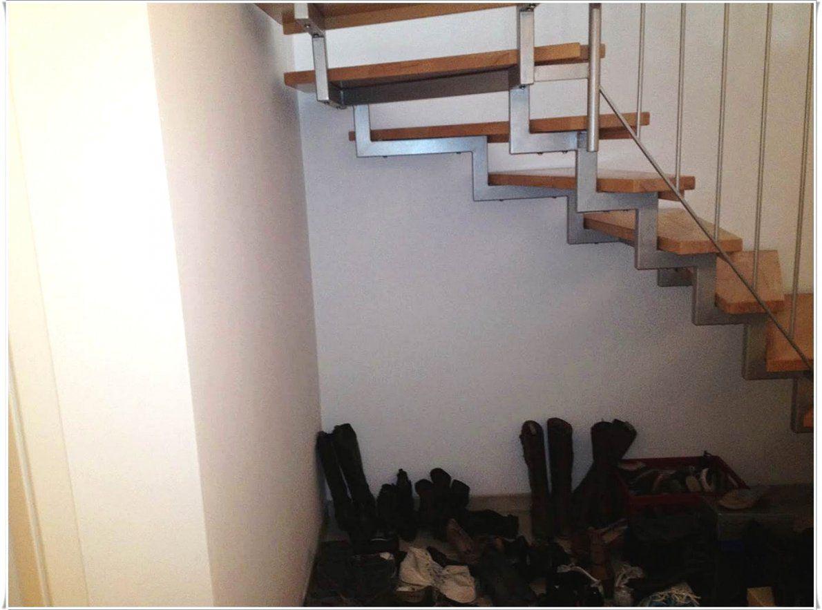 Stauraum Unter Einer Offenen Treppe Sinnvoll Nutzen
