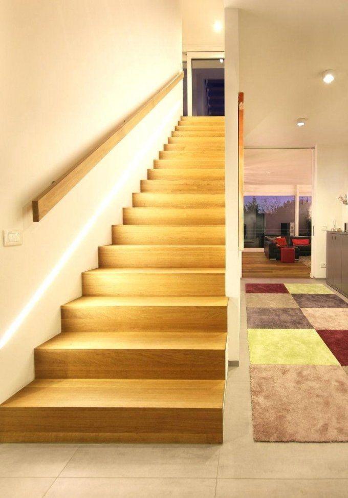 Treppenbeleuchtung Architektenhaus Am Hang In Wiesbaden Bauen Led von Flur Und Treppenbeleuchtung Mit Bewegungsmelder Photo