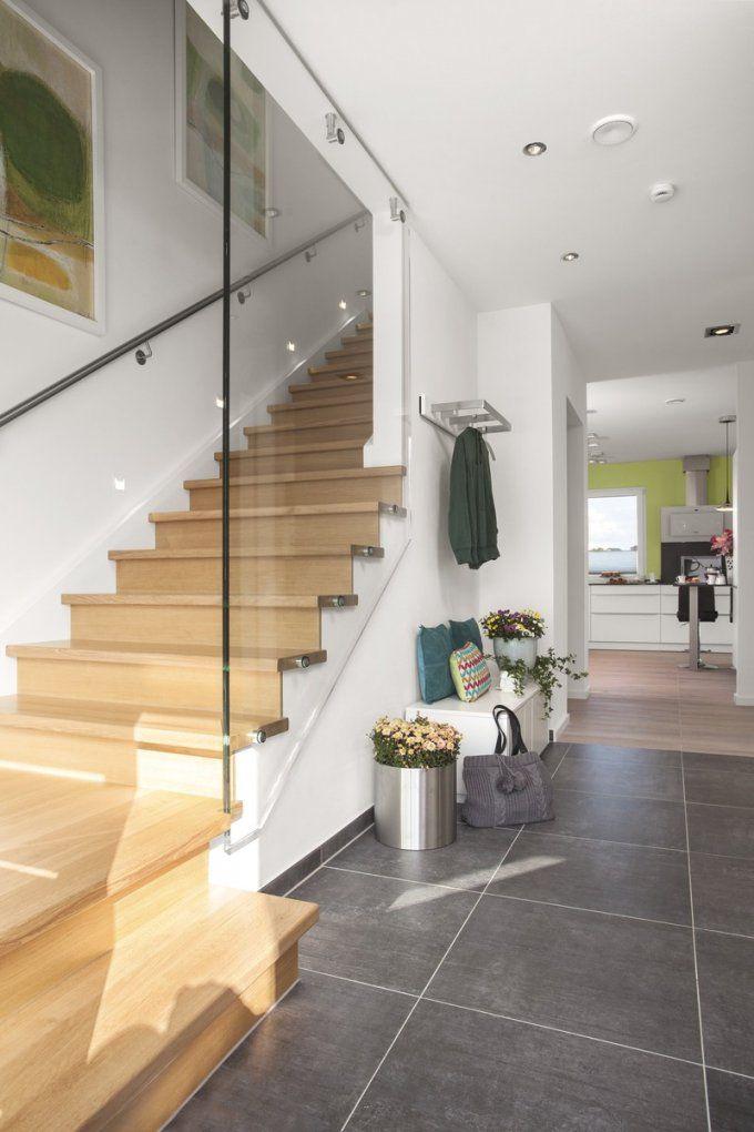 Treppenhaus Gestalten Schöner Wohnen Mit Haus Pinterest Treppe Flure von Treppenhaus Gestalten Schöner Wohnen Bild