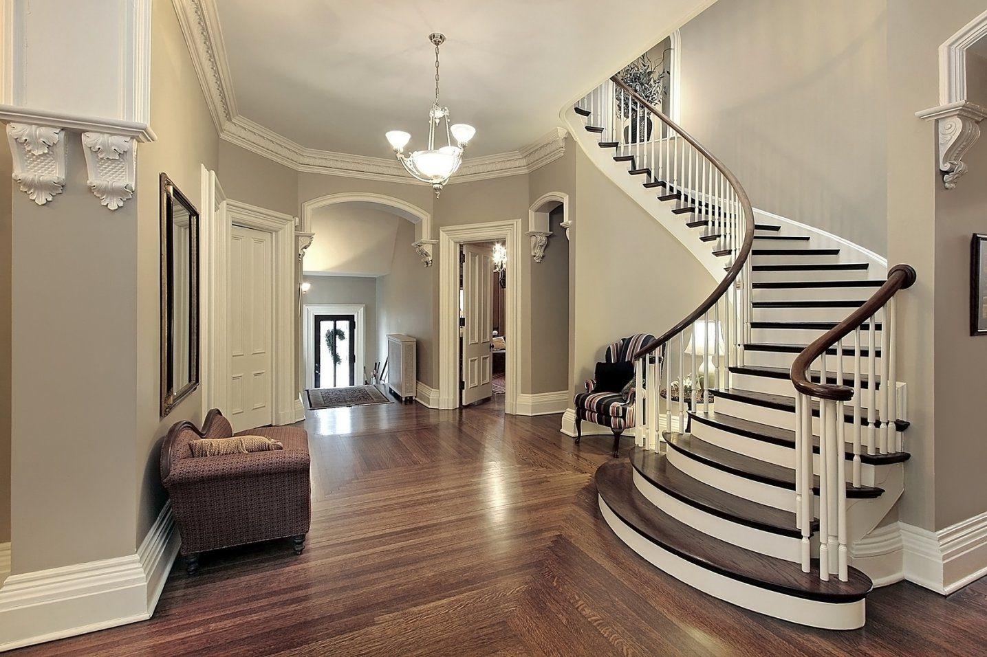 Treppenhaus Streichen – Vom Stiefkind Zum Besucherliebling von Tapeten Für Flur Und Treppenhaus Photo