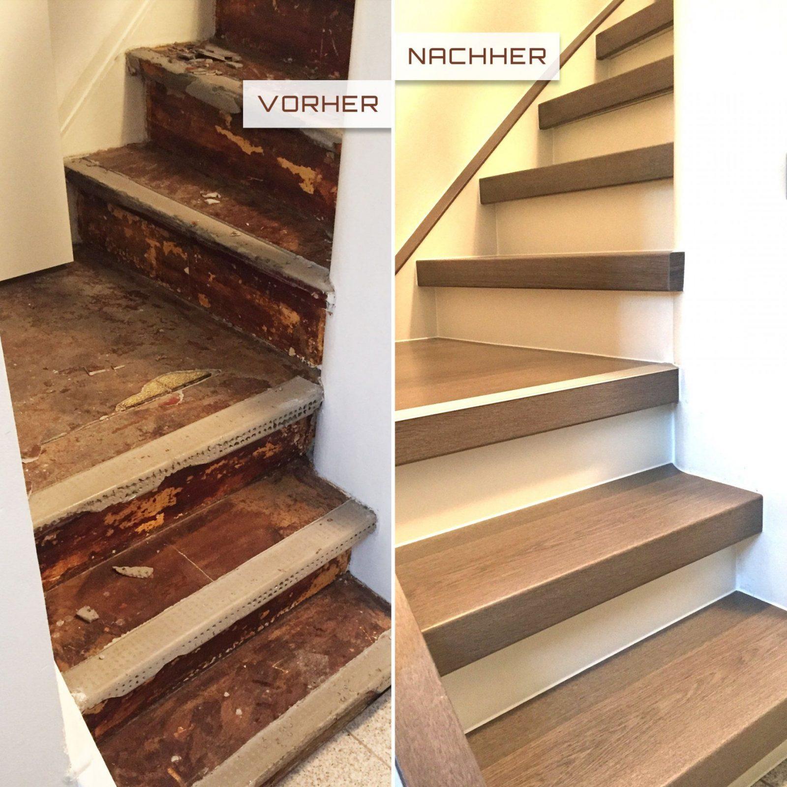 Treppenrenovierung ⋆ Trebowa von Treppe Renovieren Vorher Nachher Photo