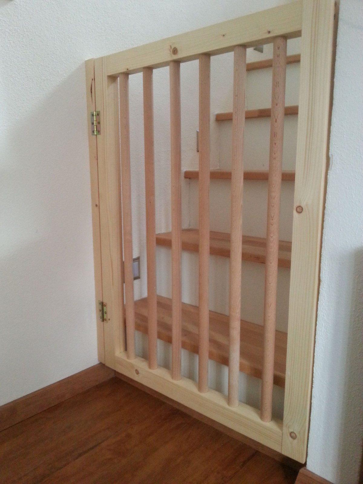 Treppenschutzgitter Bauanleitung Zum Selber Bauen  Kinder von Treppenschutzgitter Zum Klemmen Ikea Photo