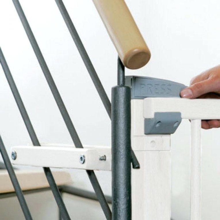 Treppenschutzgitter Hauck Ta 1 4 Rschutzgitter Openan Stop White von Treppenschutzgitter Ohne Bohren Ikea Bild