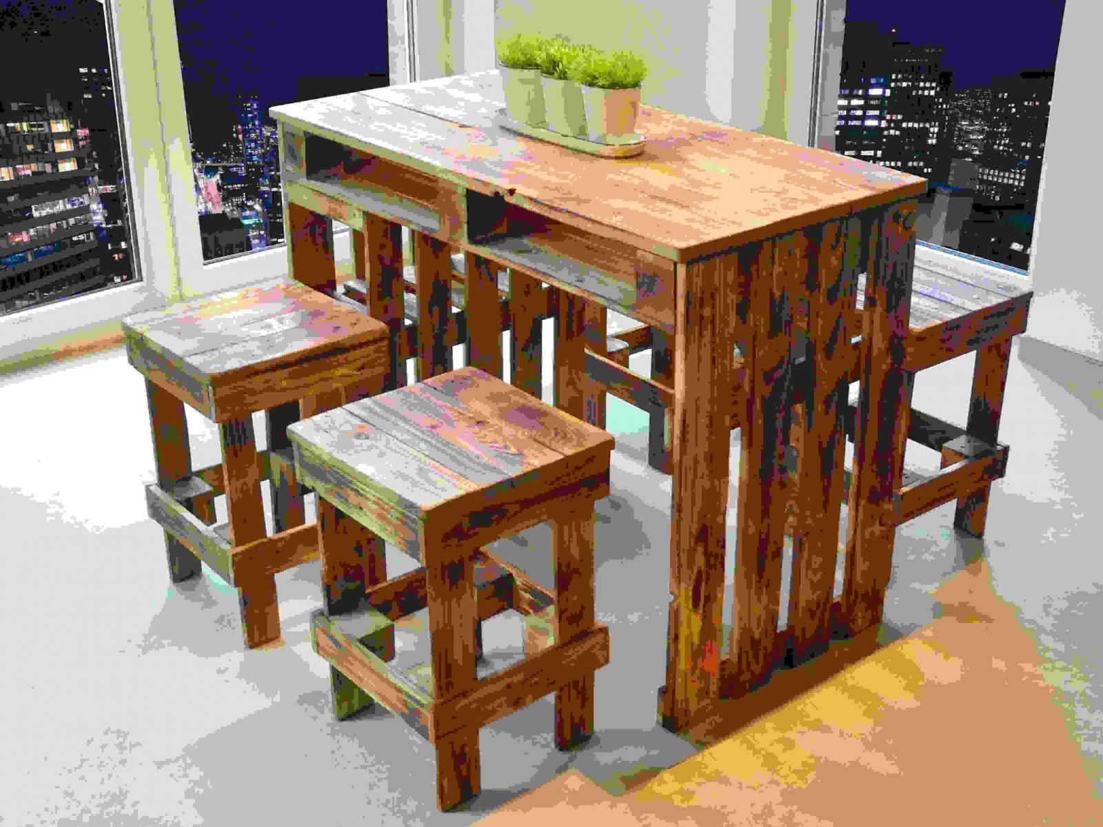 esstisch aus paletten bauanleitung haus design ideen. Black Bedroom Furniture Sets. Home Design Ideas