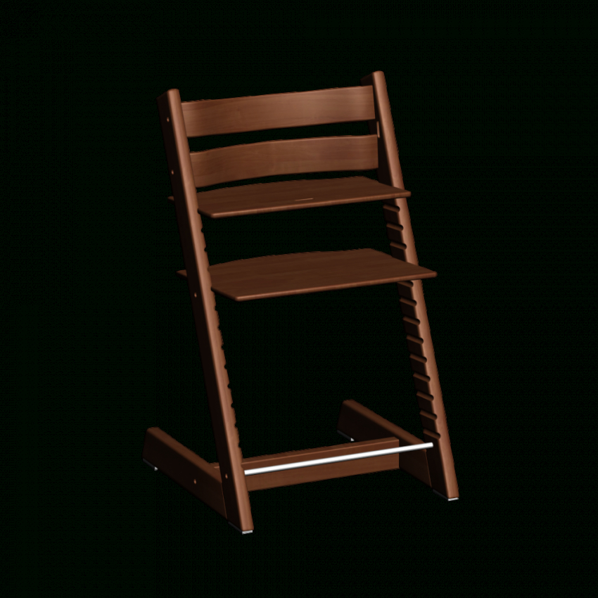 Tripp Trapp Walnut  Design And Decorate Your Room In 3D von Stokke Tripp Trapp Braun Bild