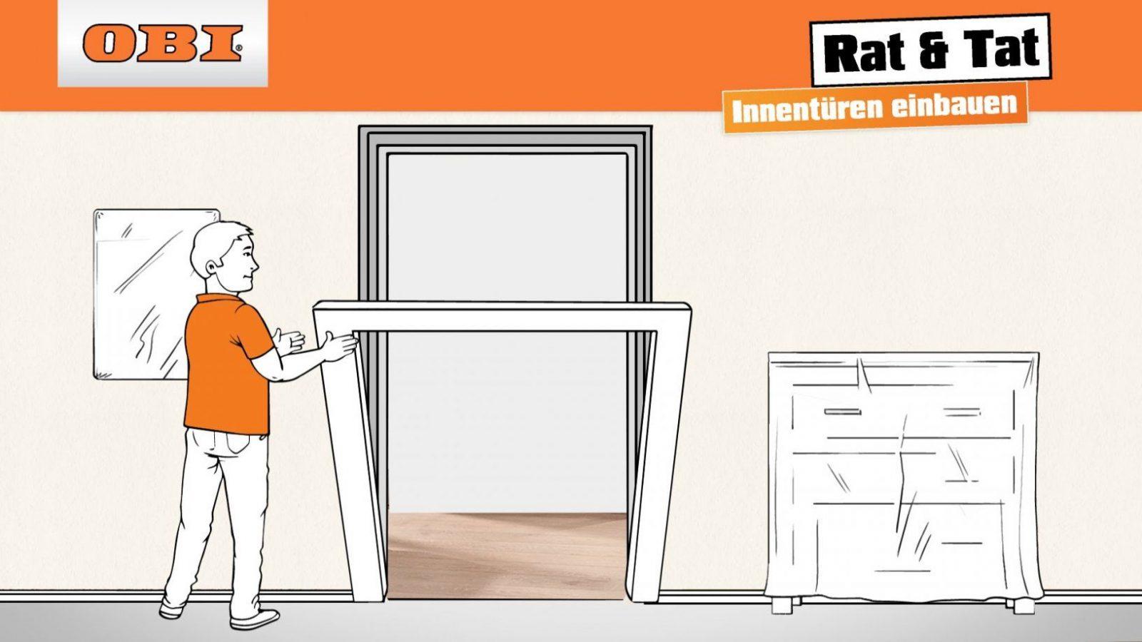 Tür Richtig Einbauen  Zimmertür Anleitung  Rat & Tat  Youtube von Trockenbau Tür Einbauen Anleitung Photo