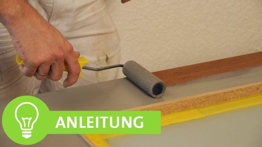 Tür Streichen Ohne Streifen Anleitung Für Einfaches Lackieren Von von Holztüren Streichen Ohne Abschleifen Bild