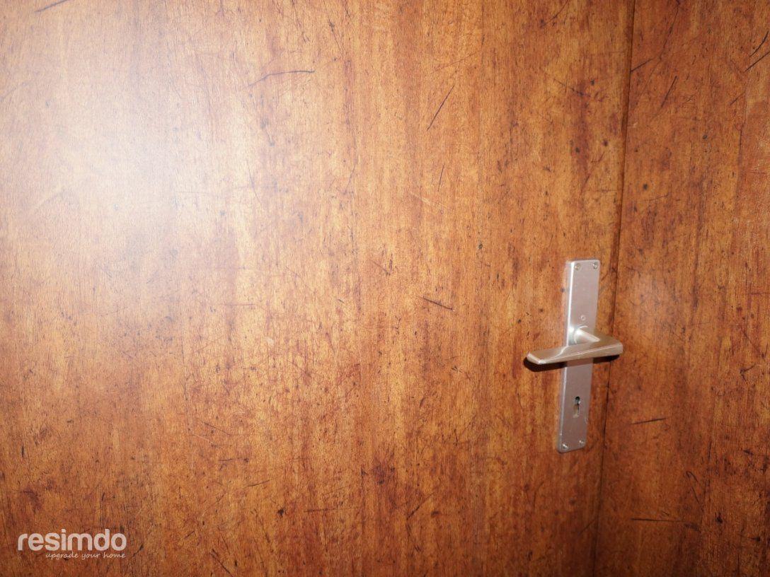 Türen Aufarbeiten  Klebefolie  Holzoptik  Resimdo von Alte Türen Streichen Ohne Abschleifen Bild