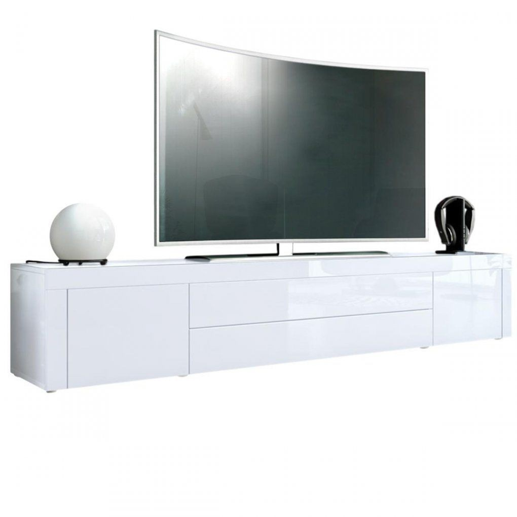 Tv Sideboard Weiss Lowboard Weis Hochglanz Gunstig Holz Matt Led Cm von Lowboard Weiß Hochglanz 3M Photo