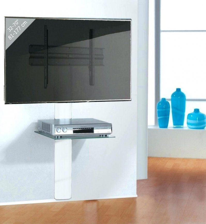 Tv Verstecken Kabelsalat Stabile Wandhalterung Mit Aluminium von Tv Aufhängen Kabel Verstecken Bild