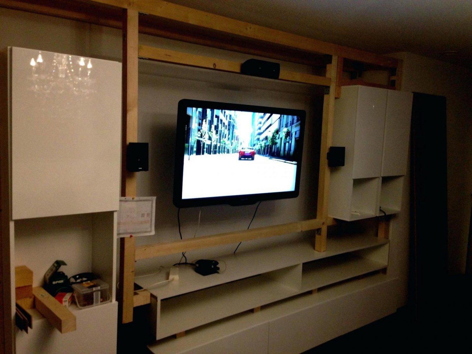 tv verstecken schanheit wohnzimmer wand ideen auf tile
