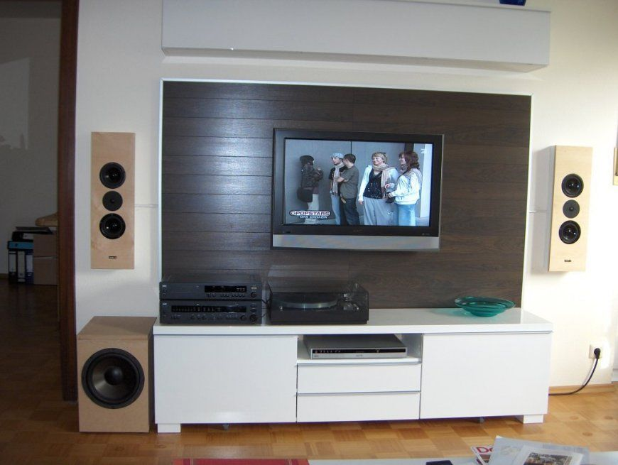 tv wand selber bauen ikea haus design ideen. Black Bedroom Furniture Sets. Home Design Ideas