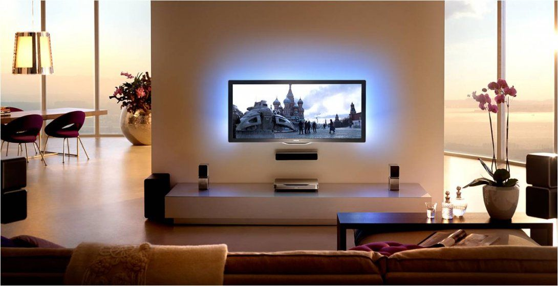 Tv Wand Selber Bauen Laminat Zum Aufregend Garten Layout Kgmaa Von
