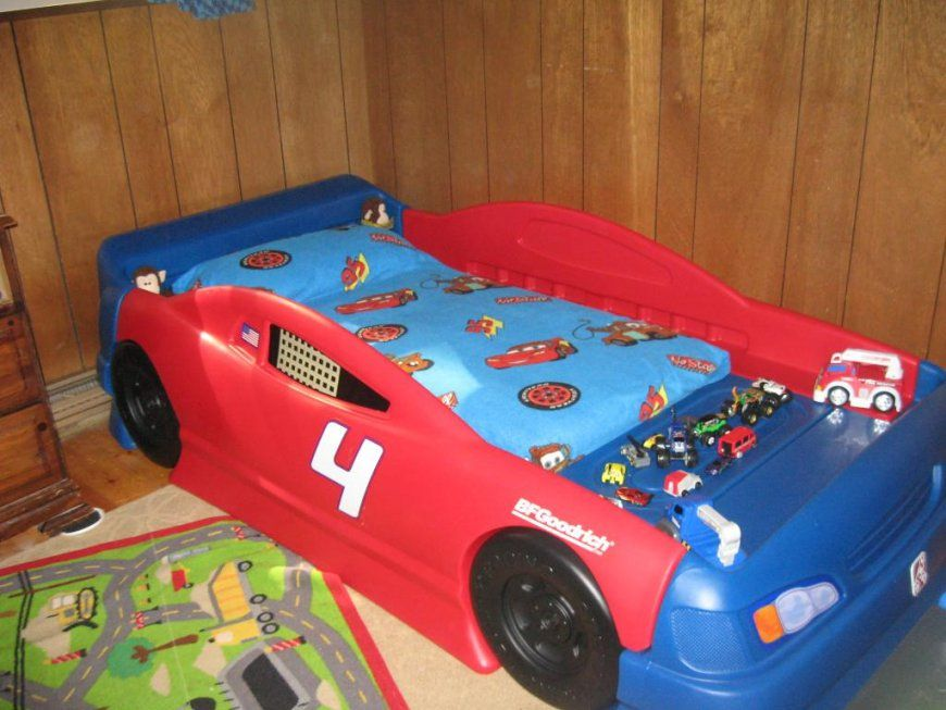 Twin Race Car Bed Instructions  Raindance Bed Designs von Toddler Car Bed For Boys Bild