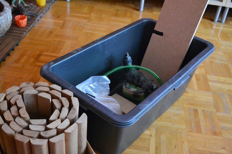 Ulli´s Hexenküche Neues Projekt  Wir Bauen Einen Brunnen Für Den von Balkon Brunnen Selber Bauen Bild