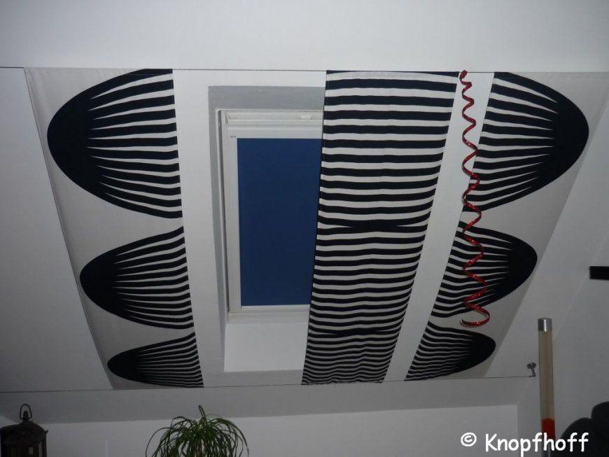 Und Ihre Nähwelt Tolle Lösung  Vorhänge Für Schräge Dachfenster von Gardinen Für Dachfenster Selber Nähen Photo