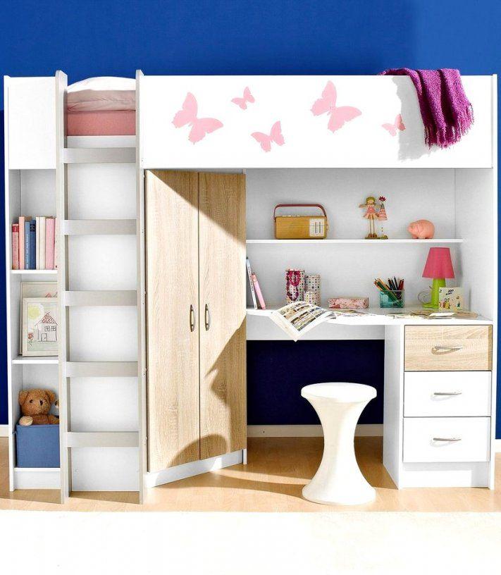 Unglaubliche Inspiration Hochbett Mädchen Mit Schreibtisch Und von Hochbett Mit Treppe Und Schreibtisch Photo