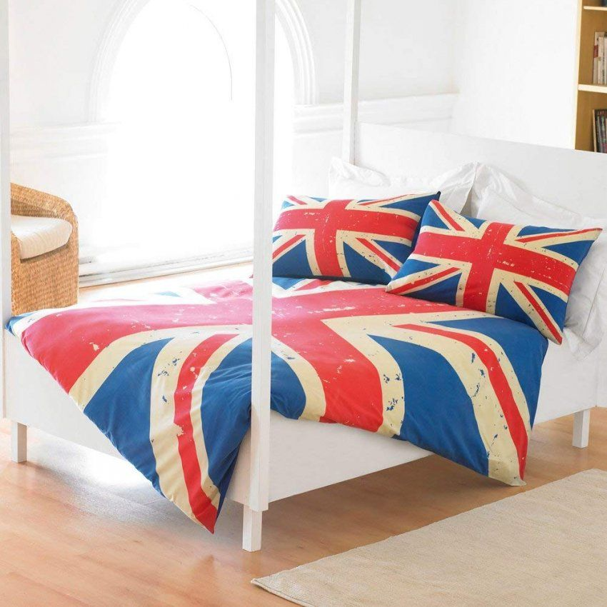 Union Jack Bettwaesche Set  Dibinekadar Decoration von Bettwäsche Union Jack Photo