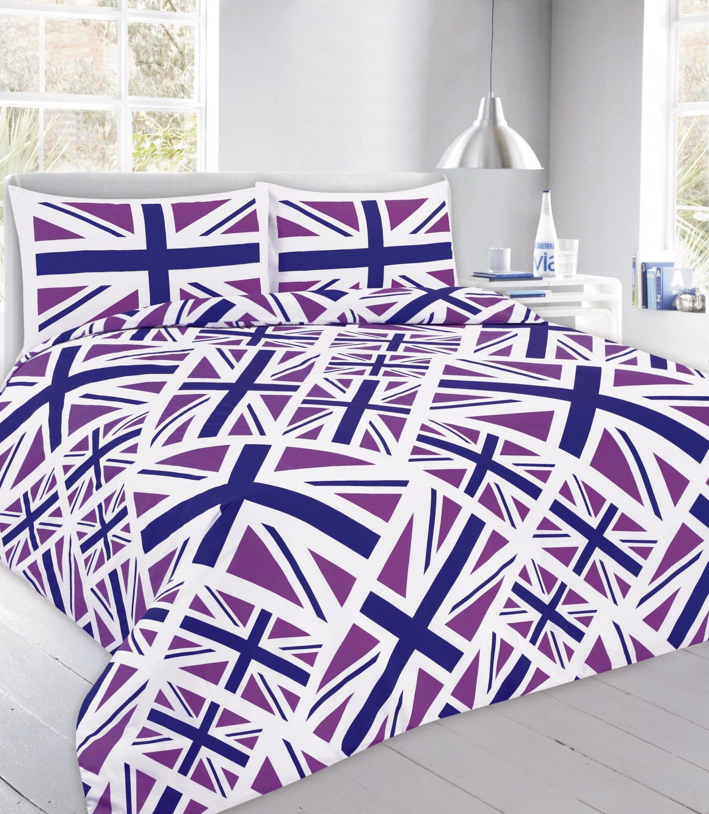 Union Jack England Gedruckt Quilt Bettbezug Bettwäsche Set  Fruugo von Bettwäsche Union Jack Bild