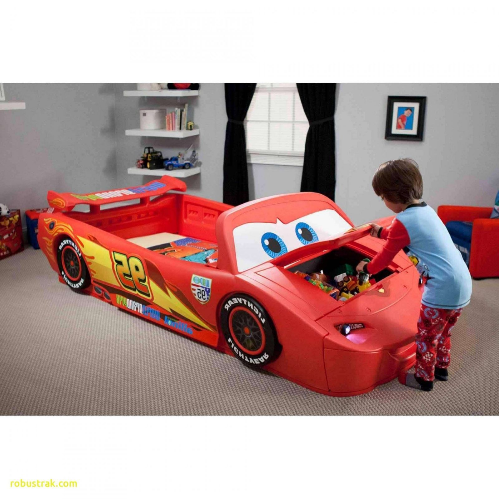 Unique Full Size Race Car Bed  Home Design Ideas von Toddler Car Bed For Boys Photo