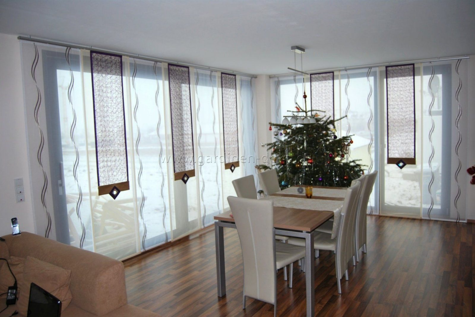 Unique Gardinen Wohnzimmer Ideen  Homemaison von Gardinen Muster Für Wohnzimmer Bild