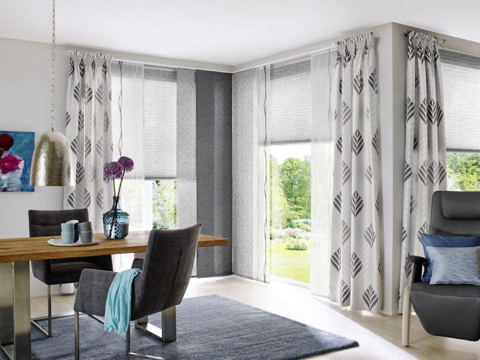 Unland Grace Fensterideen Vorhang Gardinen Und Sonnenschutz von Unland Gardinen Muster Bild