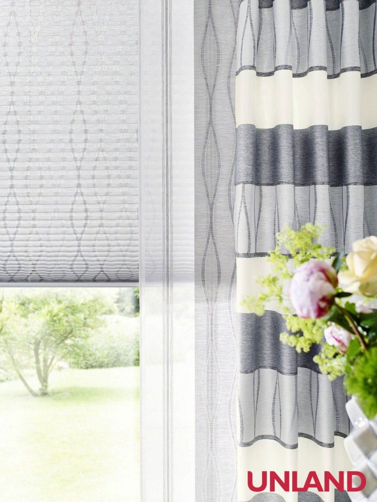 Unland Malvin Silver Detail Fensterideen Vorhang Gardinen Und von Unland Gardinen Outlet Photo