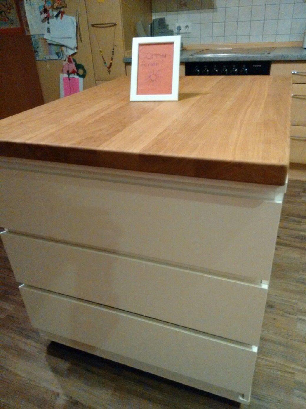 Unsere Neue Kücheninsel Toll Mit 6 Schubladen Günstig Selber Bauen von Kücheninsel Mit Theke Selber Bauen Bild