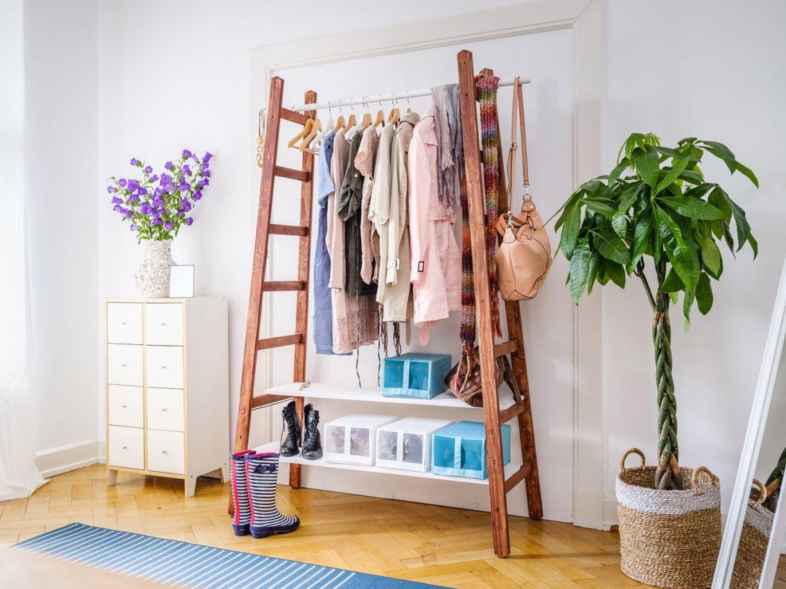 upcyclinggarderobe selber bauen von garderobe selber bauen schöner