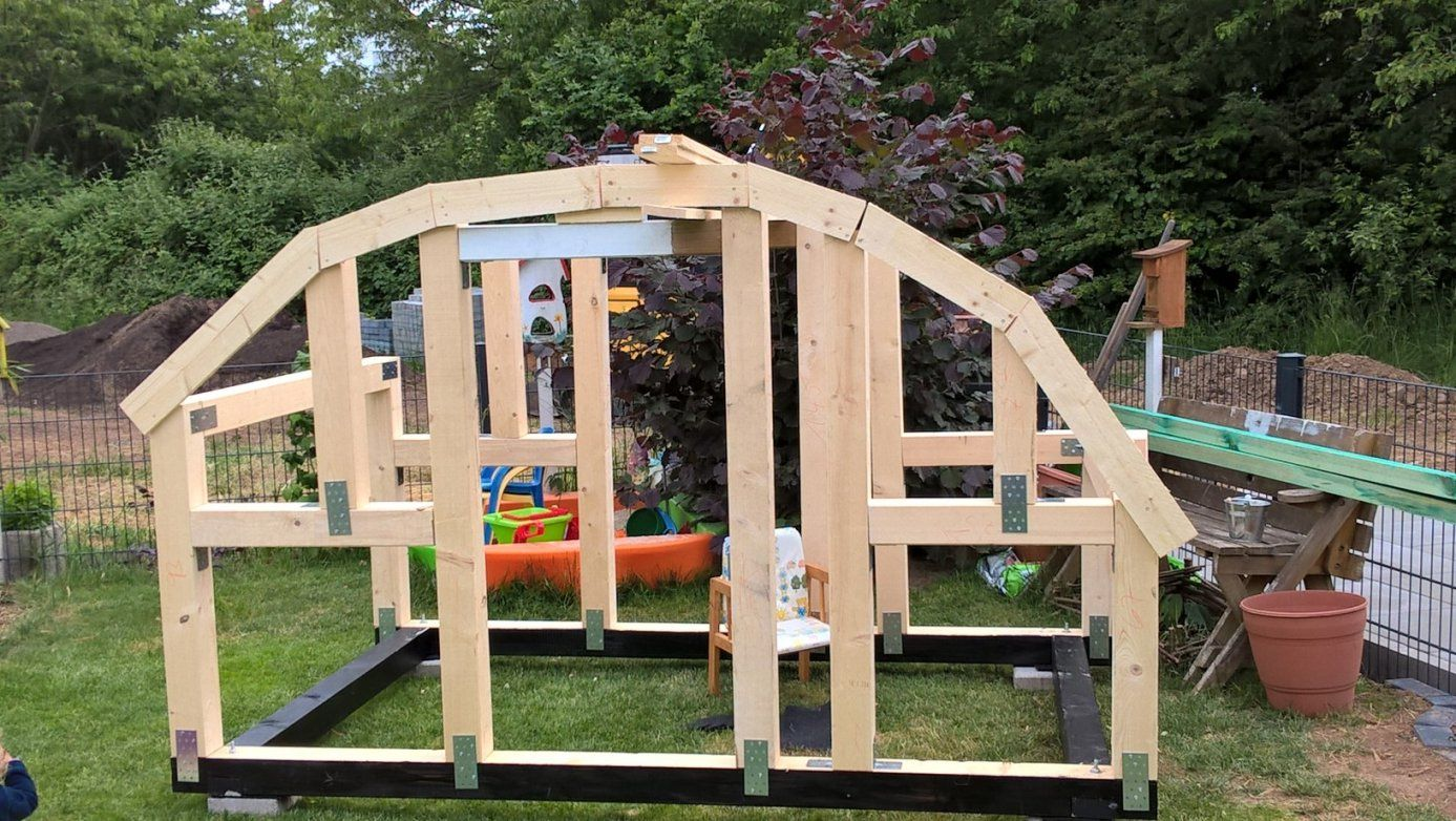 Userprojekt  Hobby & Freizeit  Selbst von Kinder Holzhaus Selber Bauen Photo
