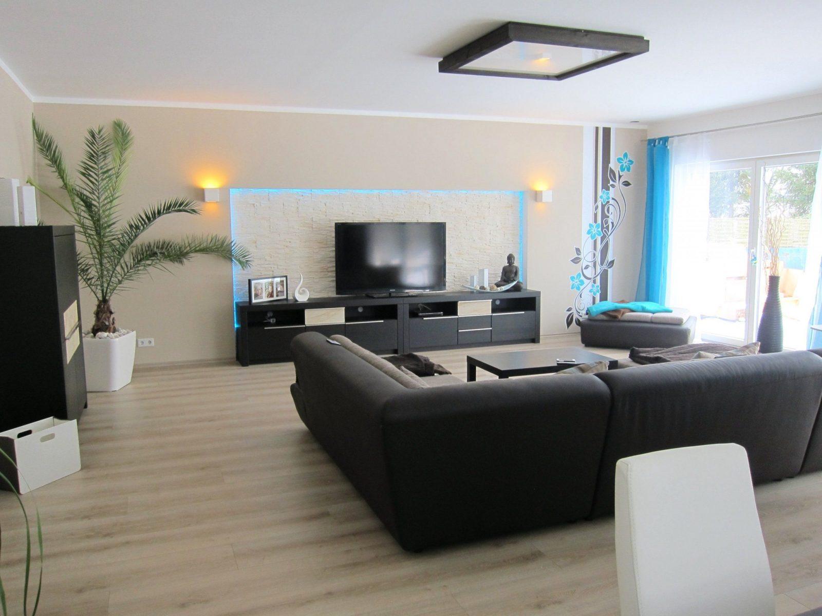Verbluffend Wandgestaltung Wohn Essbereich Im Kleinen Wohnzimmer von Modernes Wohnzimmer Mit Essbereich Photo