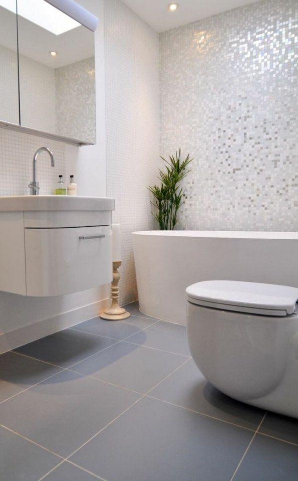 Verlockend Badezimmer Mosaikfliesen Ideen Lustig Modern Beabsichtigt von Mosaik Fliesen Bad Grau Bild