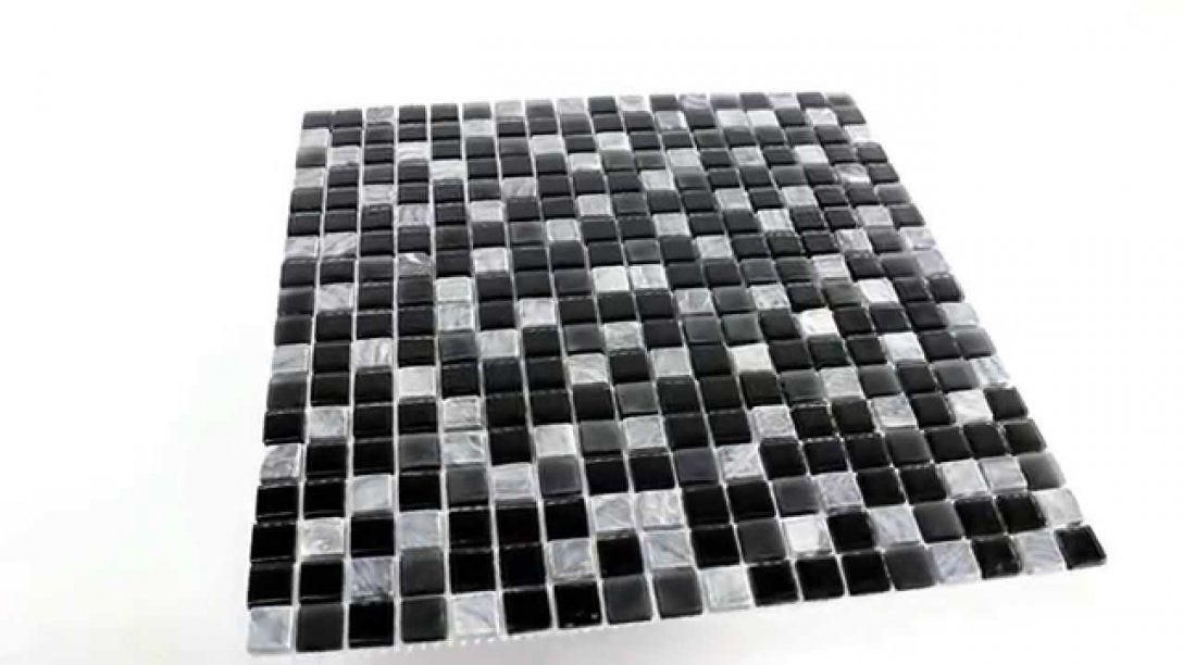 Verlockend Mosaik Fliesen Schwarz Herrlich Marmor Glas Grau von Mosaik Fliesen Schwarz Weiß Grau Bild