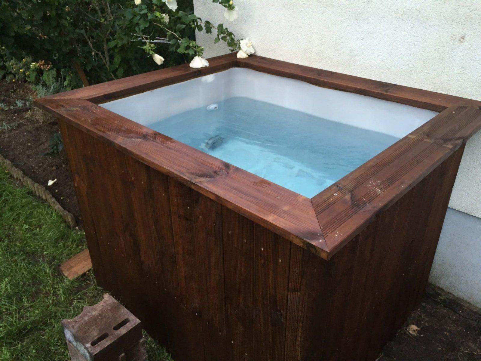 Verwunderlich Badebottich Selber Bauen Beautiful Hot Tub Selber von Hot Tube Selber Bauen Bild