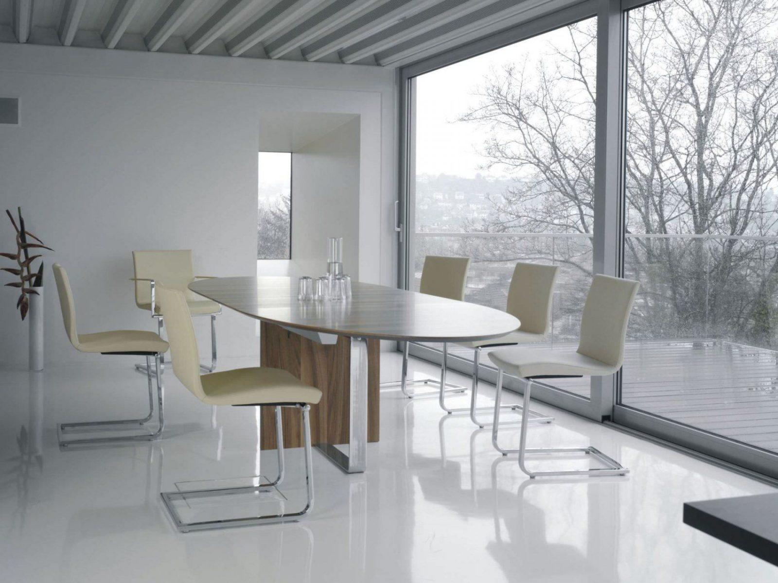 esstisch rund ausziehbar modern haus design ideen. Black Bedroom Furniture Sets. Home Design Ideas