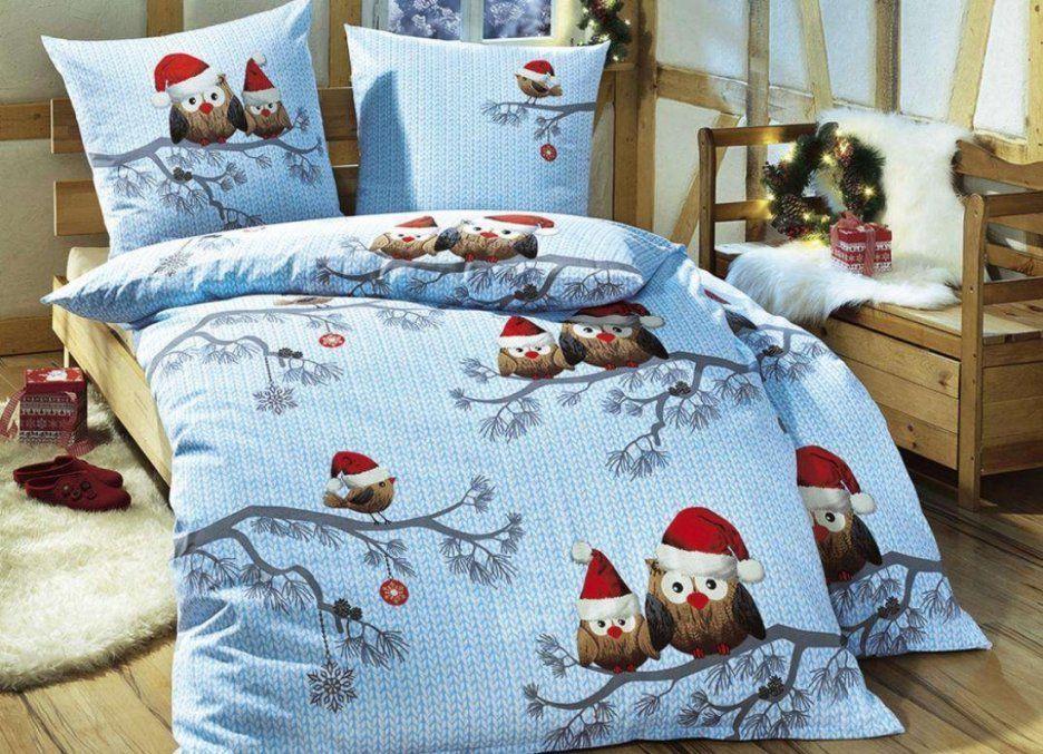 Verwunderlich Weihnachtliche Bettwäsche Bettwsche Mit von Biber Bettwäsche Weihnachtsmotiv Photo