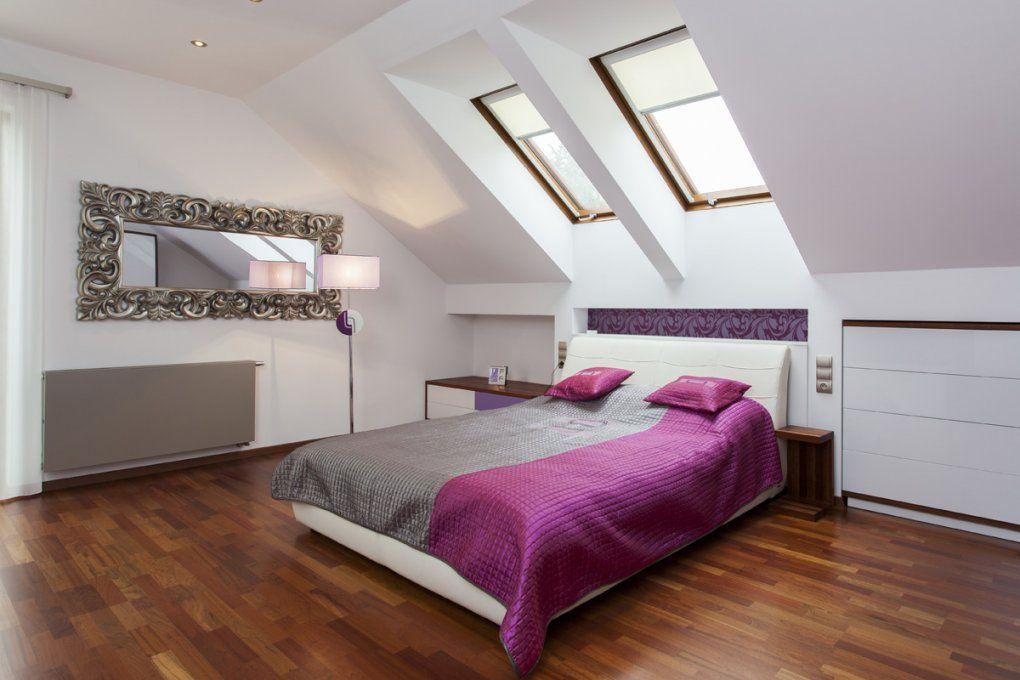 Very Attractive Zimmer Mit Dachschräge Farblich Gestalten  Home von Schlafzimmer Mit Dachschräge Farblich Gestalten Bild