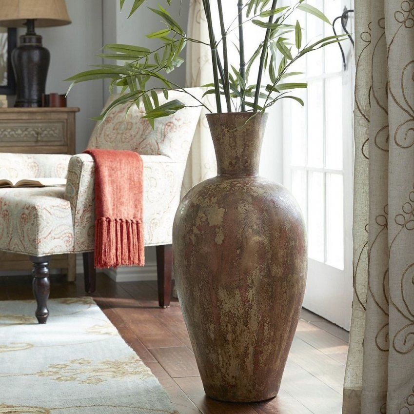 Very Tall Floor Vases Large Floor Vase Filler Ideas Tall Floor Vase von Very Tall Floor Vases Bild