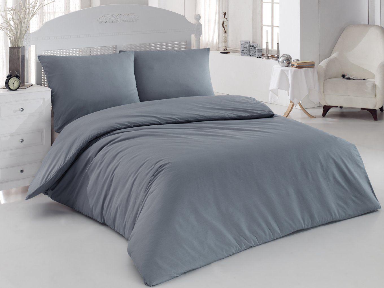 Vibrant Design Bettwäsche 200X200 Günstig Mako Satin Essential Rubin von Günstige Bettwäsche 200X200 Bild