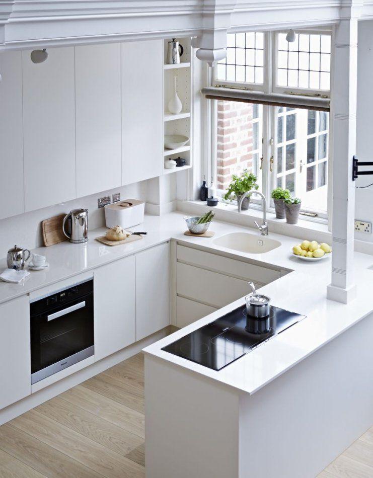 Vielleicht Doch Eine Kleine Uformlösung  Ideas For The House von Küchen Modern U Form Bild